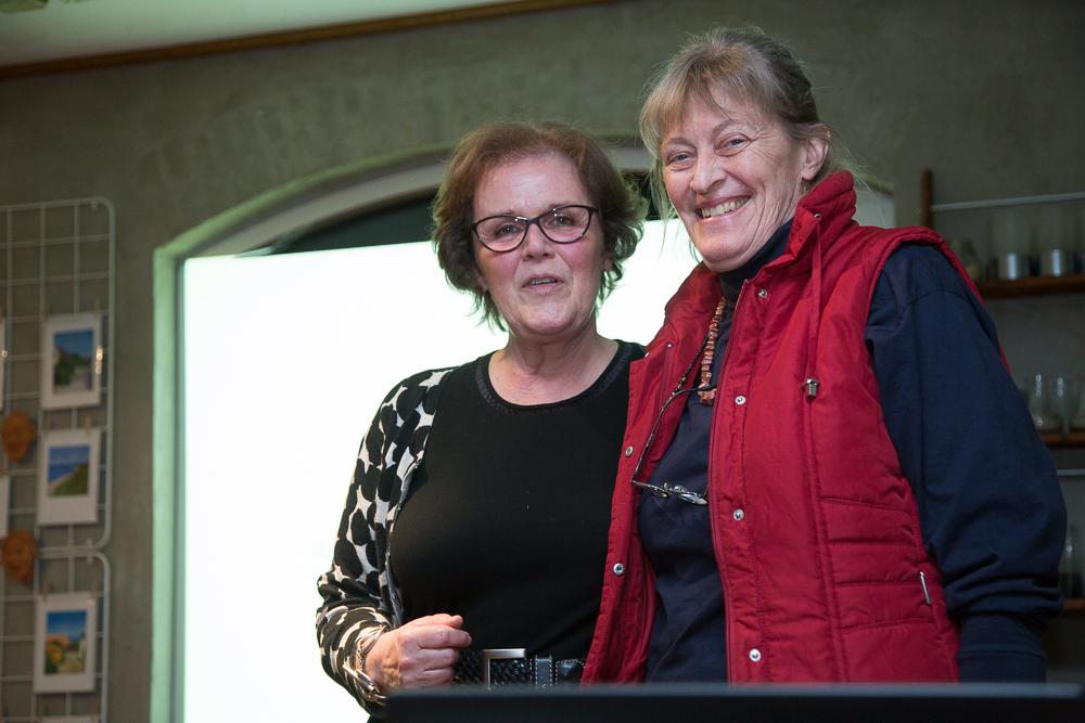 Marianne Mygind til venstre og Birgith Sloth til højre